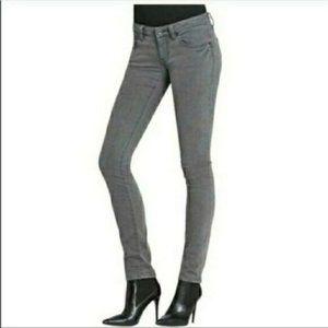 CAbi Stretch Skinny Jeans Style 921 Stormy Gray 12